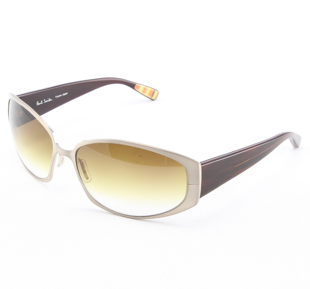 Paul Smith PS-819 BCH Sunglasses Bronze Chocolate w/ Brown Gradient Lenses