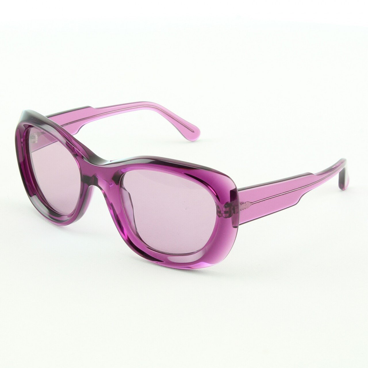 Marni MA178S Sunglasses Col. 05 Translucent Purple with Gray Gradient Lenses