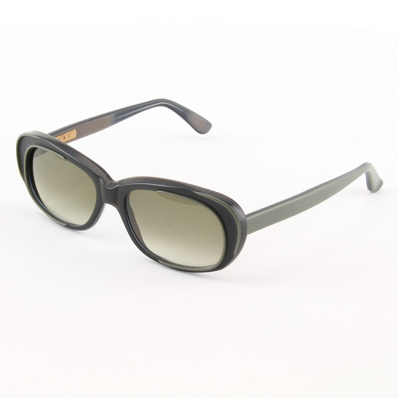 Marni MA174S Sunglasses Col. 01 Graphite Grey w/ Light Grey Frame with Gray Gradient Lenses