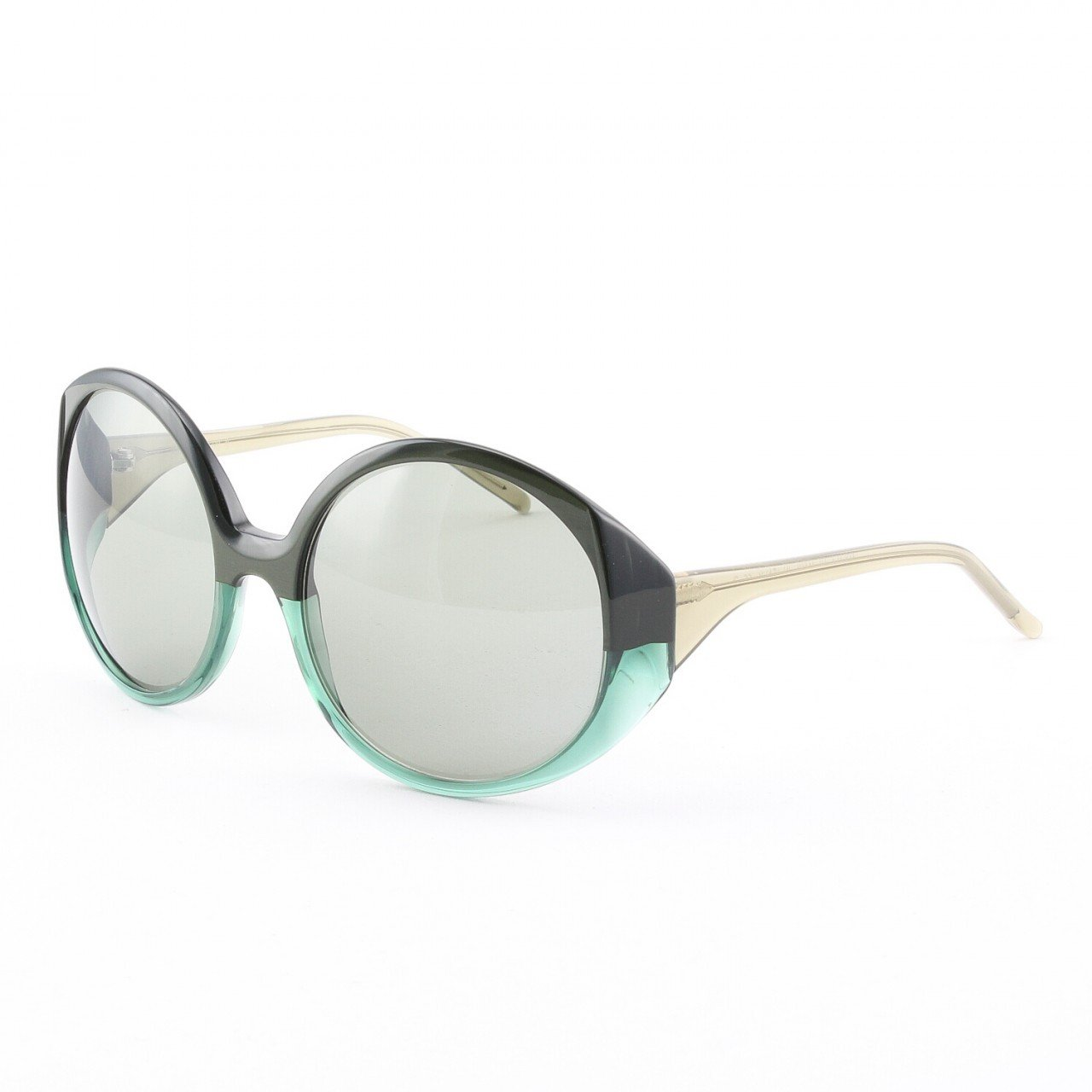Marni MA217 Sunglasses Col. 01 Opaque and Translucent Green with Green Lenses