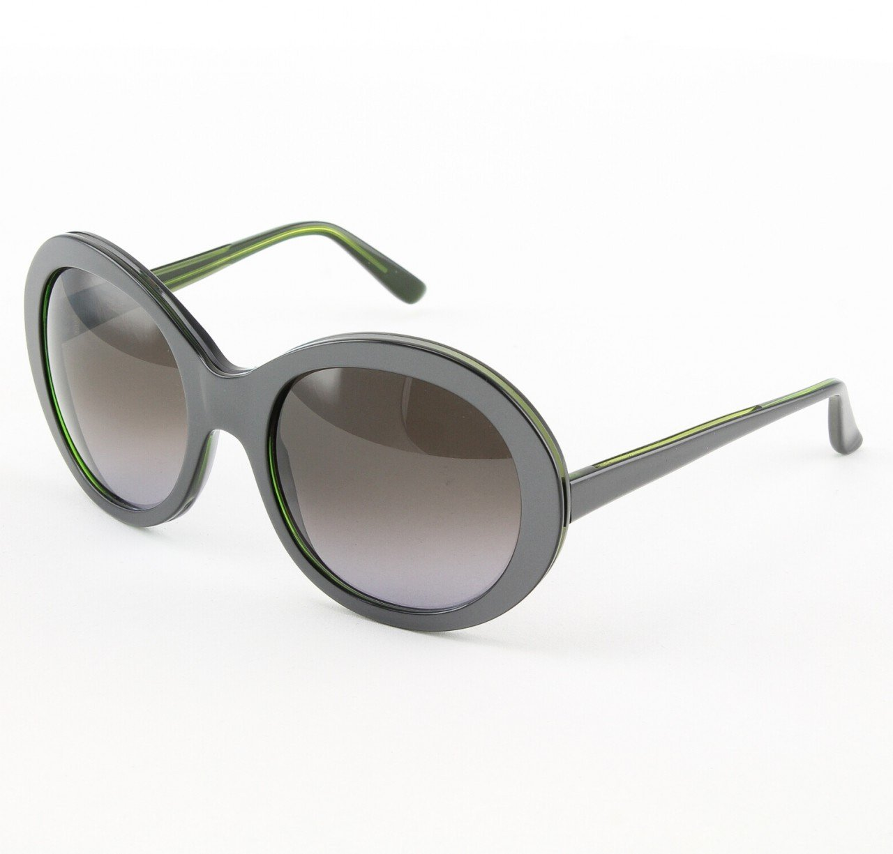 Marni MA162S Sunglasses Col. 06 Oversized Gun Metal Gray Frame with Gray Gradient Lenses