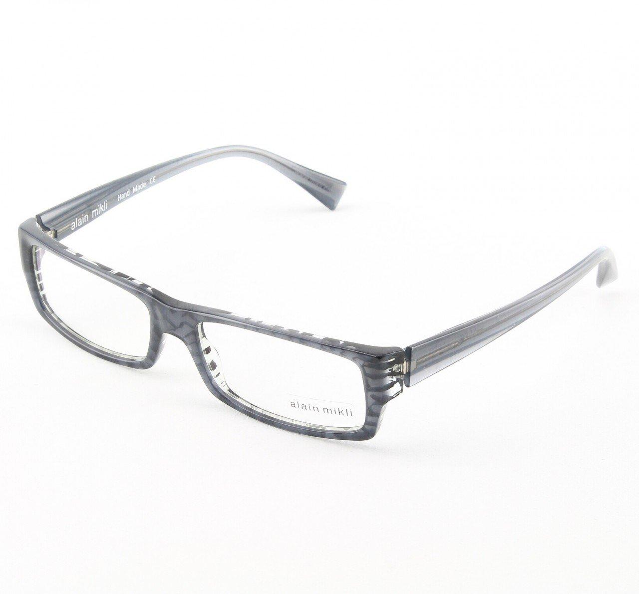 Alain Mikli Eyeglasses AL0704 Col. 23 Luminescent Gray and Black
