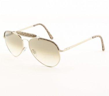e6cd4091627f ... Cesare Paciotti Panarea Lux Aviator Sunglasses Col 017 Brown Gold