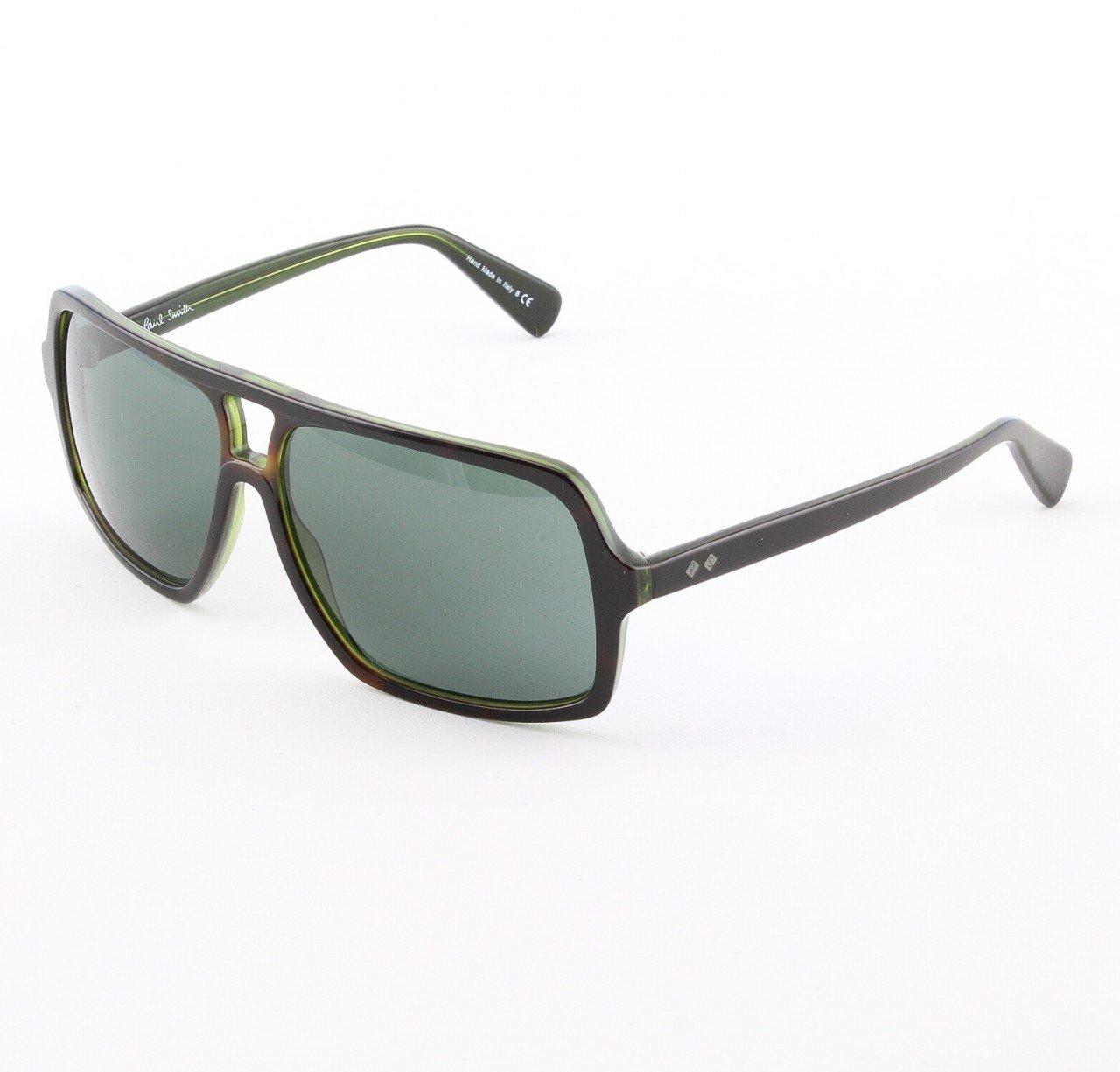 Paul Smith Waller 8082-S Sunglasses Color Dark Green Brown with Dark Grey Lenses