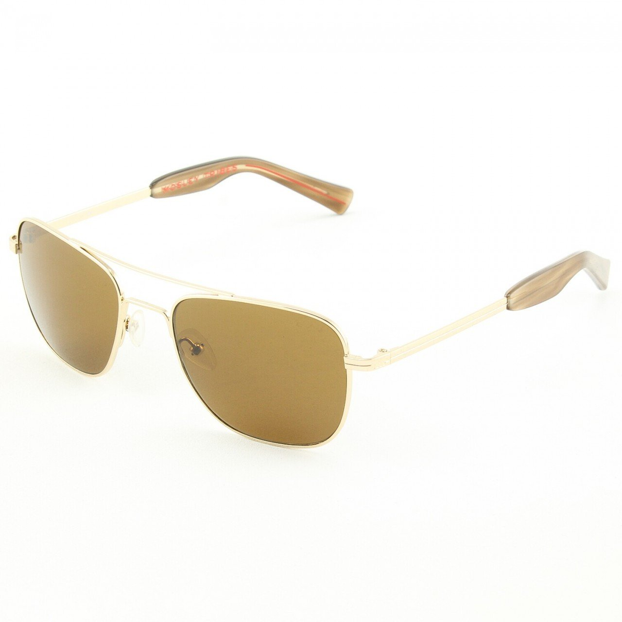 Mosley Tribes 2033S Cayton Sunglasses Col. 503553 Gold with Brown Lenses