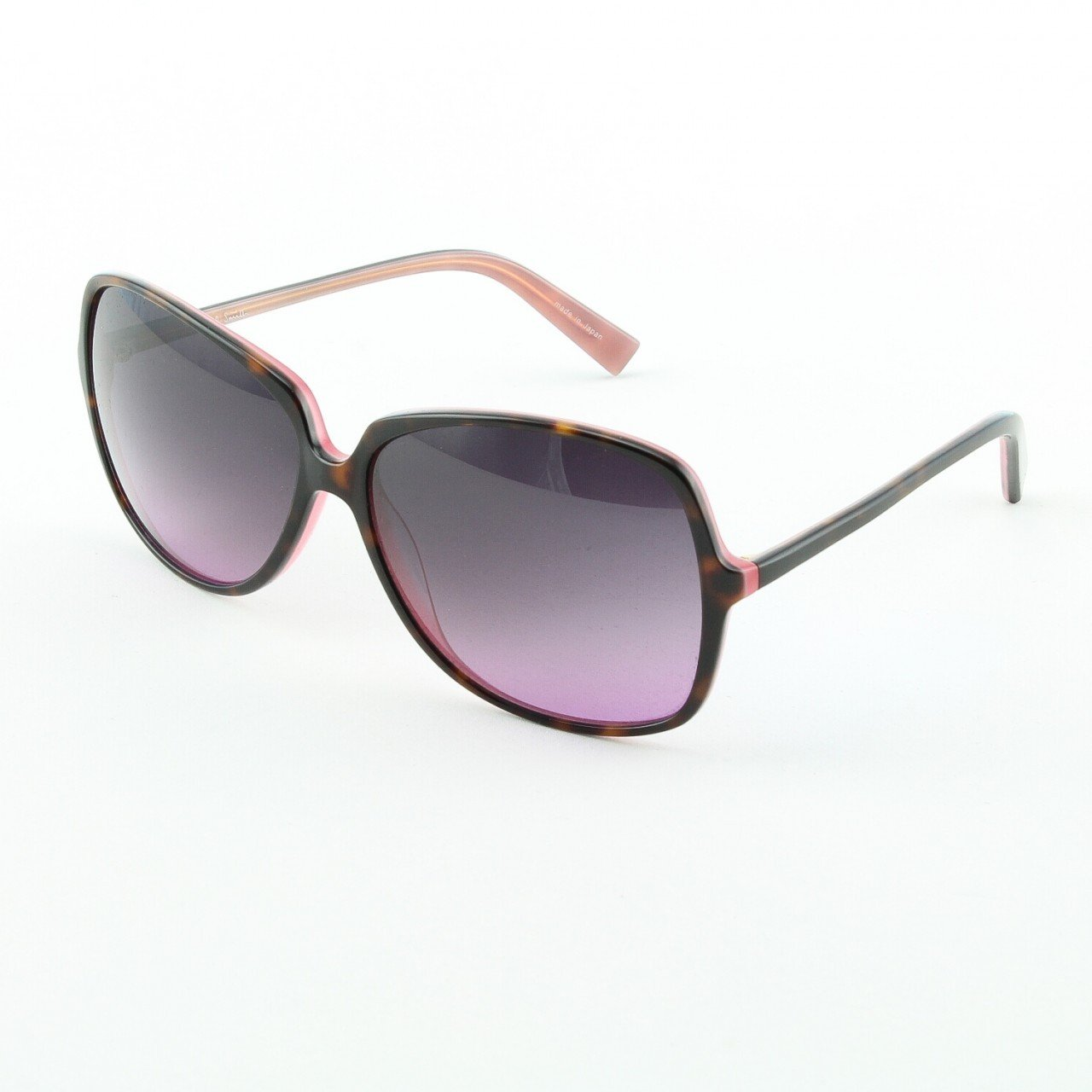 Paul Smith PS-372 OABL Sunglasses Color Tortoise Brown Pink with Purple Lenses