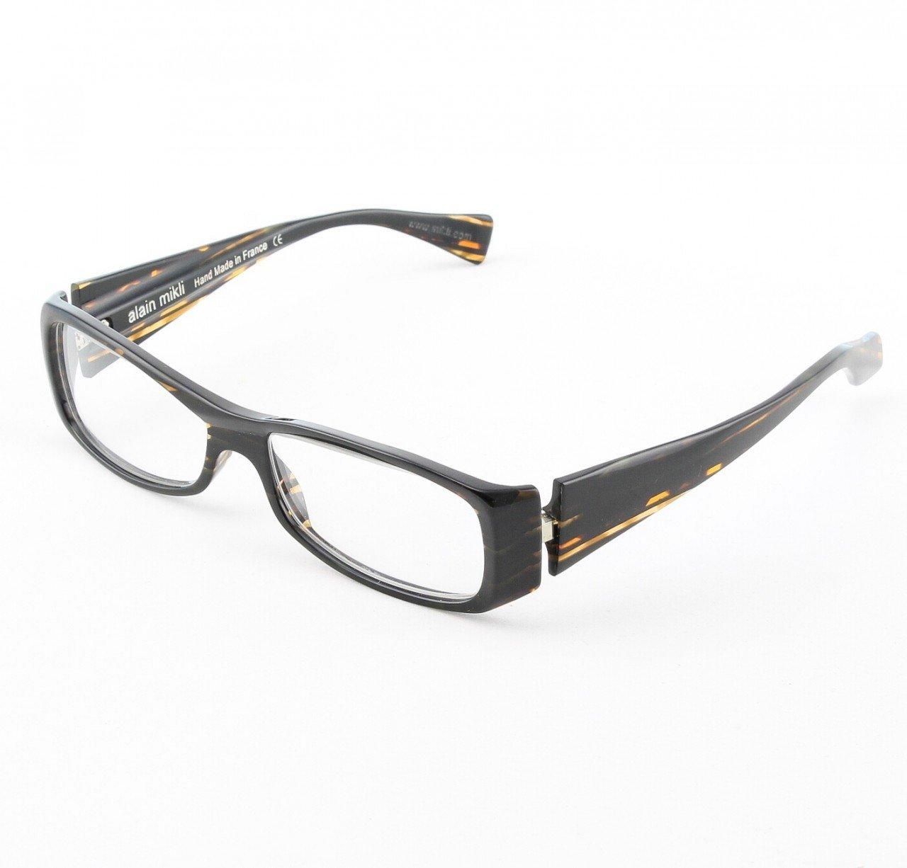 Alain Mikli Eyeglasses AL0815 Col. 88 Deep Dark Tortoise