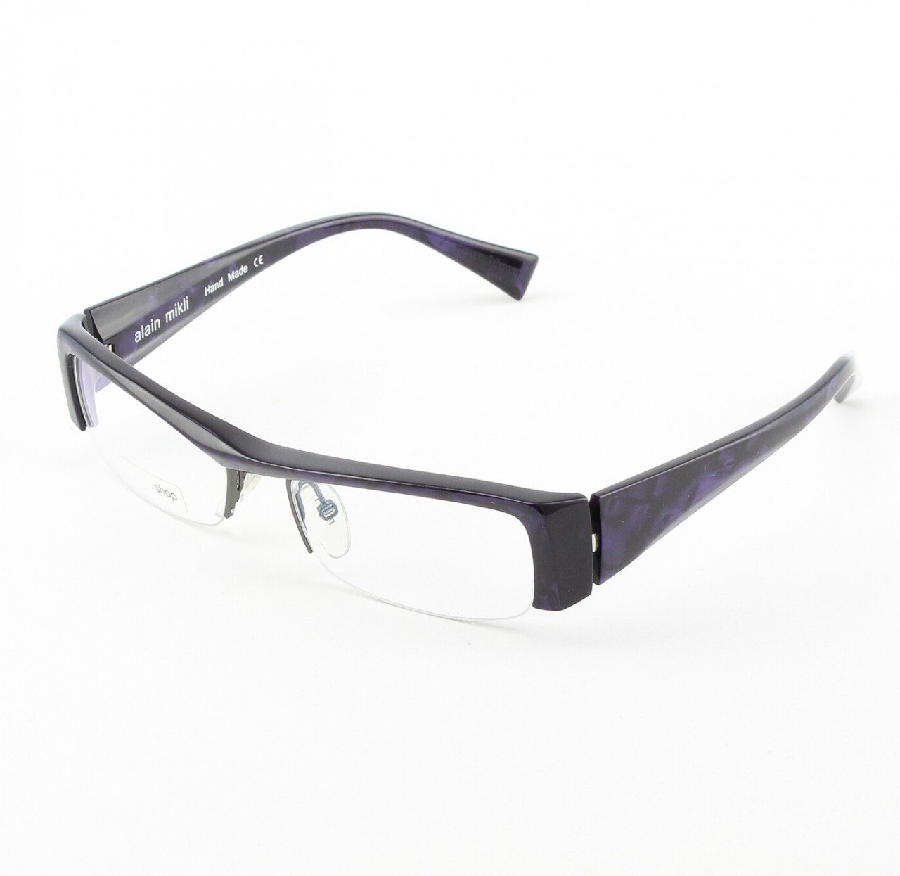 Alain Mikli Eyeglasses AL0795 Col. 90 Marbled Purple