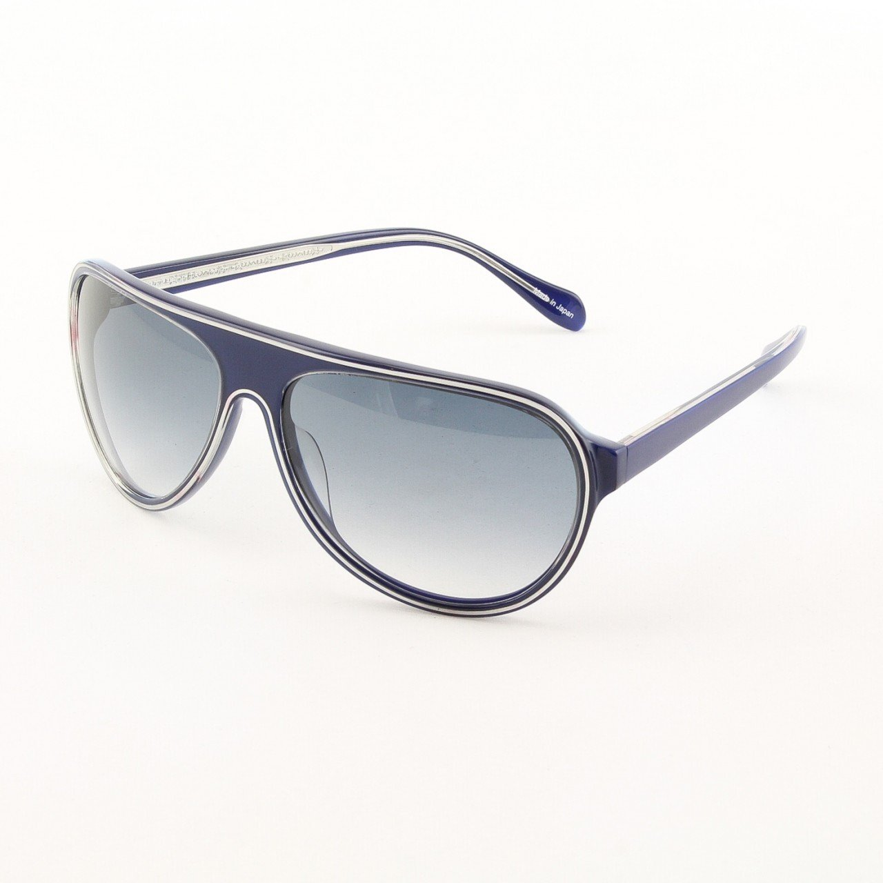 Oliver Peoples Gadson Sunglasses Col. RN 4562 Royal Navy Blue with Blue Gradient Lenses