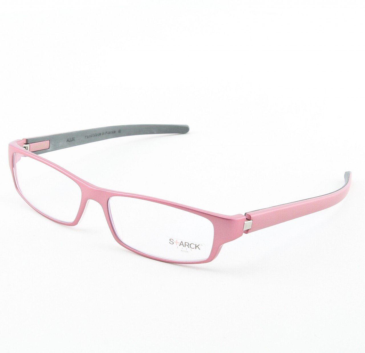 Starck Eyeglasses P0604 Col. 17 Pink with Clear Lenses