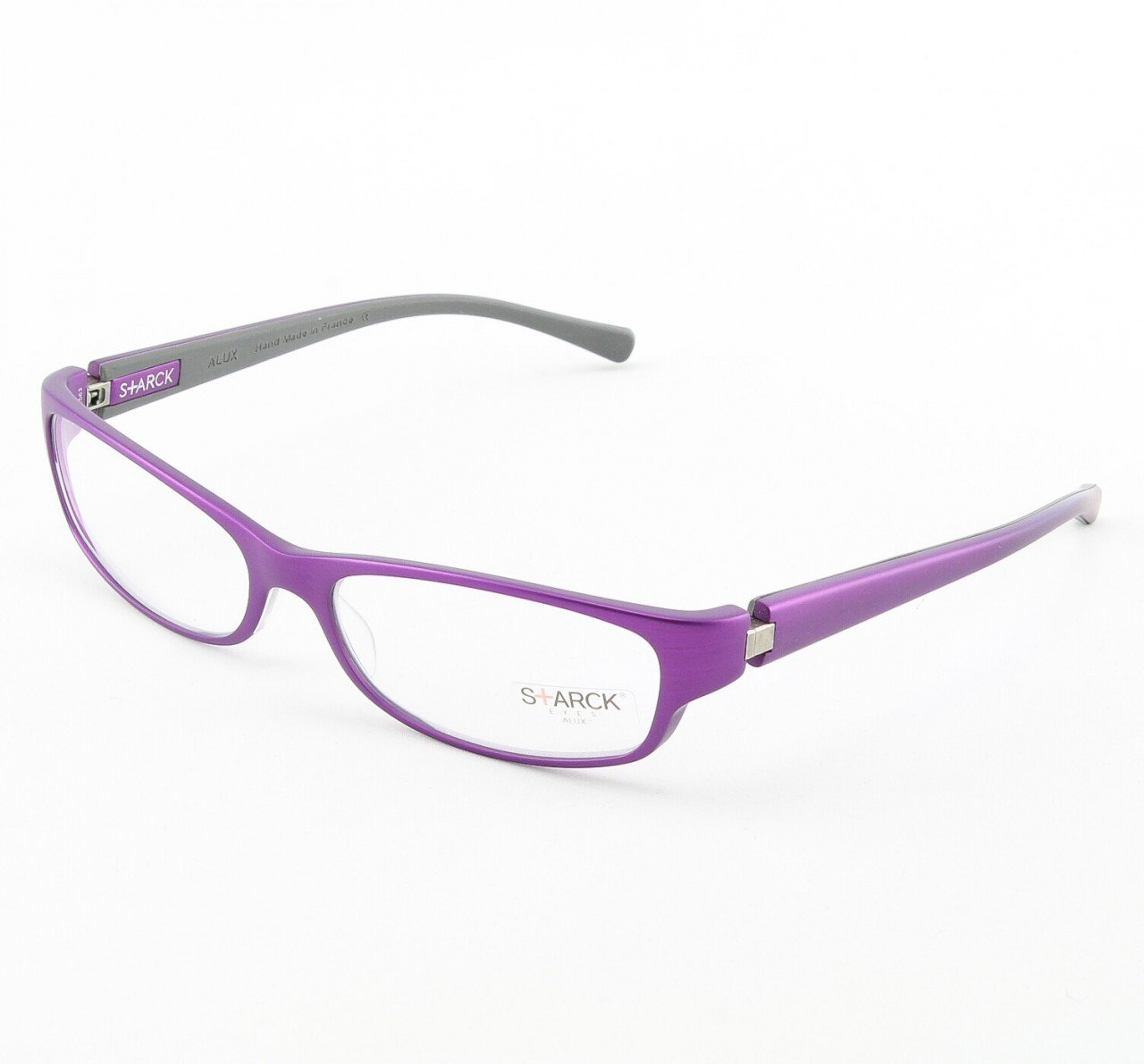 Starck Eyeglasses P0601 Col. 19 Magenta with Clear Lenses