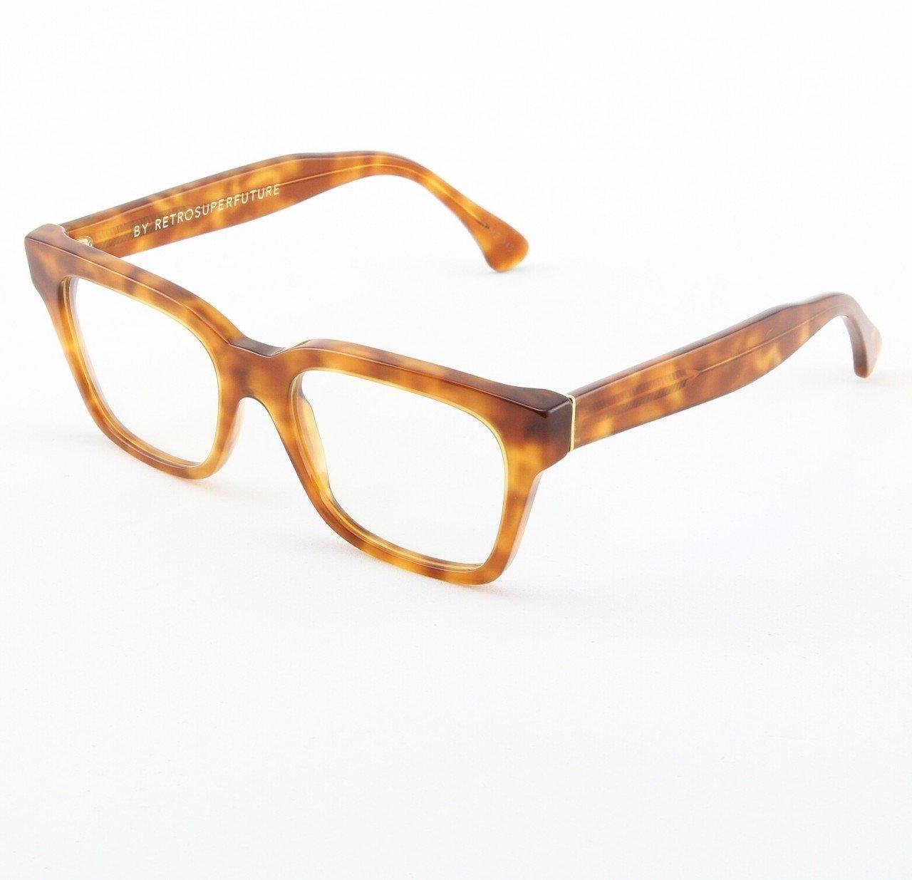 Super America 625 Eyeglasses Havana with Clear Zeiss Lenses by RETROSUPERFUTURE