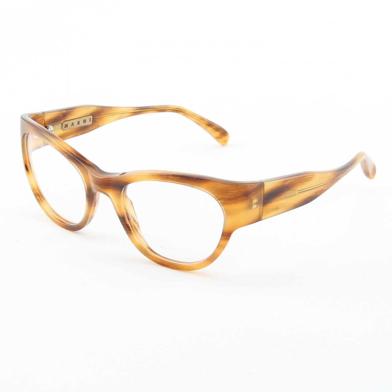 Marni MA683S Eyeglasses Col. 06 Classic Tortoise with Clear Lenses