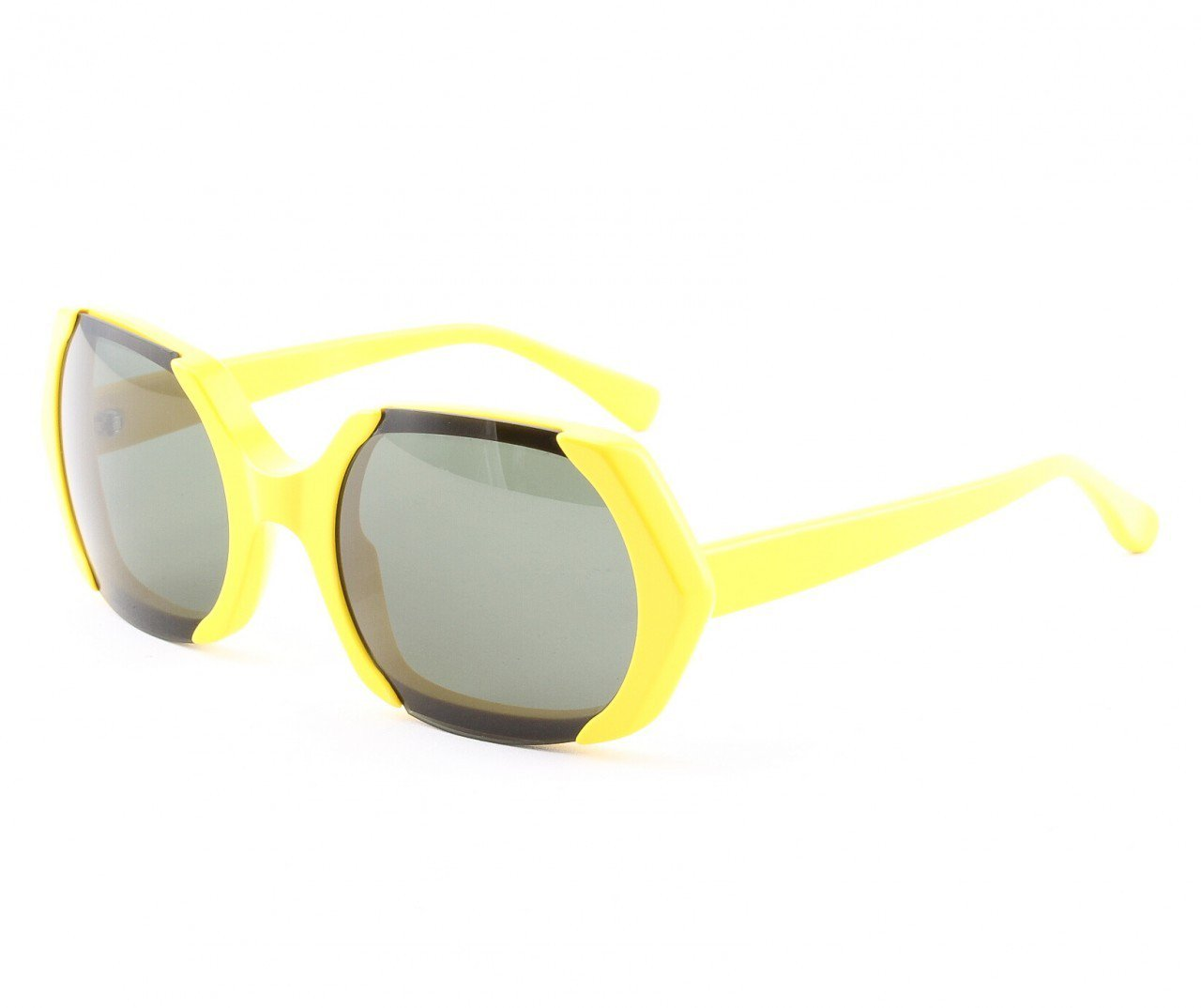 Marni MA223 Sunglasses Col. 03 Hi Tech Yellow Enamel Frame with Gray Lenses