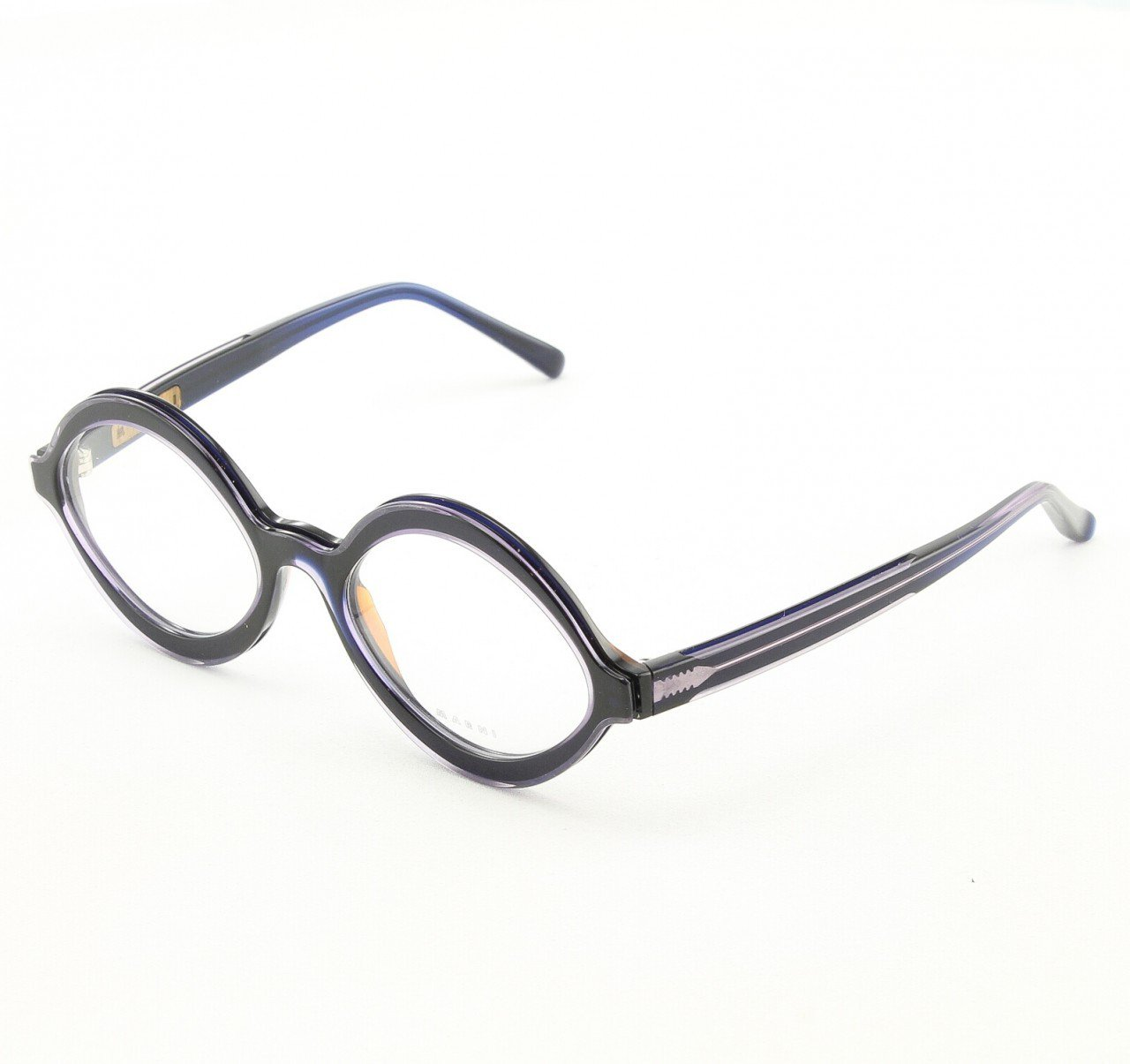 Marni MA671S Eyeglasses Col. 05 Midnight Purple with Clear Lenses
