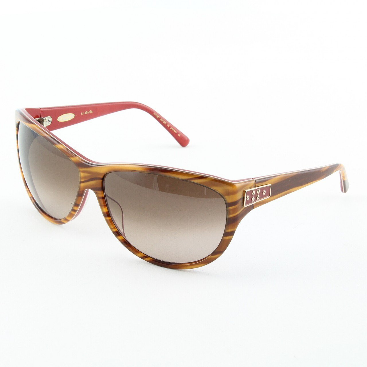 Blinde Lips Like Sugar Women's Sunglasses Col. Coral Tortoise with Brown Gradient Lenses