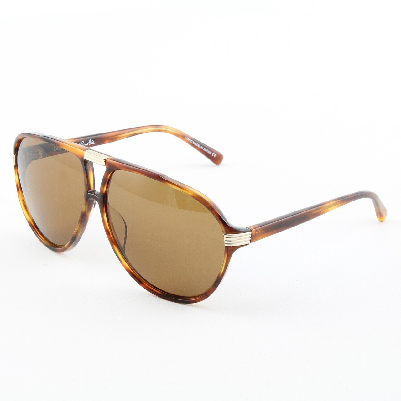 Blinde The Shakedown Unisex Aviator Sunglasses Col. Tortoise with Solid Brown Lenses