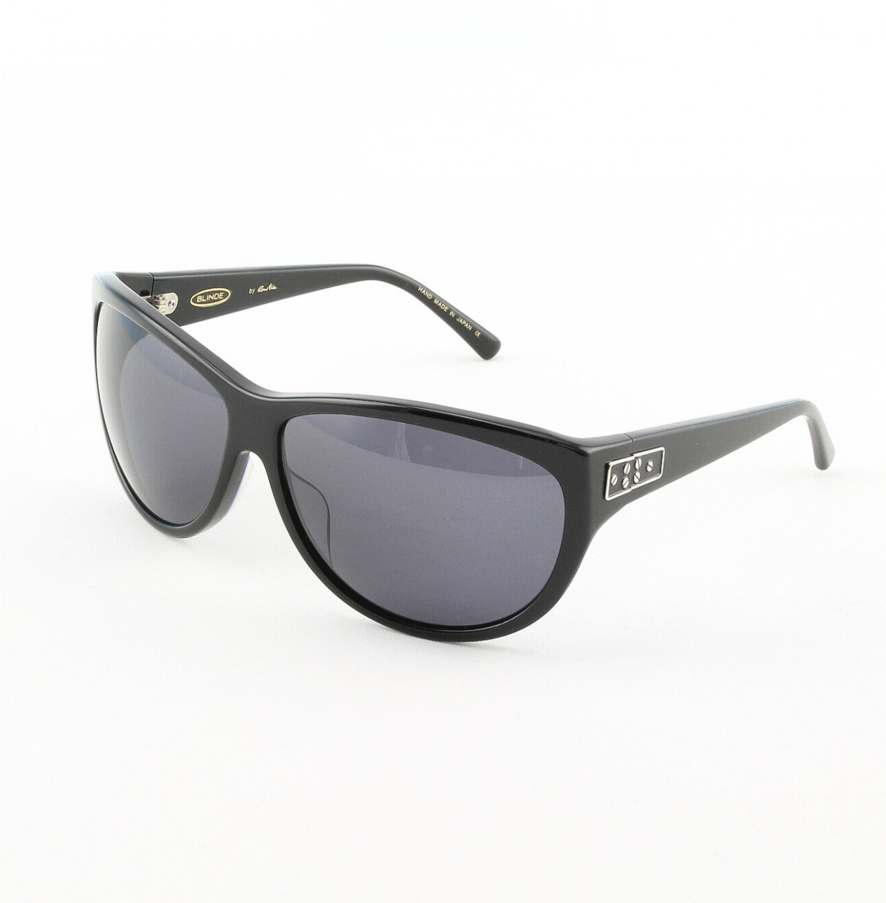 Blinde Lips Like Sugar Women's Sunglasses Col. Black with Solid Black Lenses