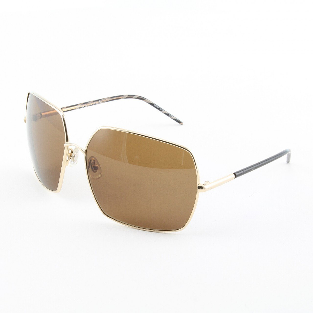 Blinde C'mon Women's Sunglasses Col. Gold with Solid Brown Lenses