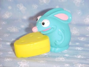 2 Disney Bear In The Big Blue House Tutter Mouse Toy