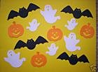 Sizzix Halloween  (bats, ghosts and jack-o-lanterens)