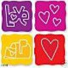 Love Set Sizzix Sizzlits  Valentine