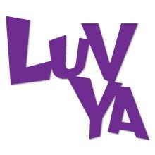Luv Ya, phrase, love, romance, Sizzix Thin Cut