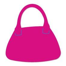 Handbag #1, purse Sizzix Thin Cut