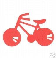 Bicycle, bike, Medium Yellow Sizzix