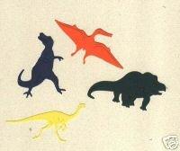 Dinosaur die cuts pterodactyl tyrannosaurus gallmimus protoceratops Sizzix Sizzlit