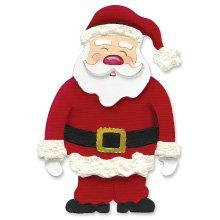 Santa Claus full body  Christmas  Ellison Sizzix Large Red Die