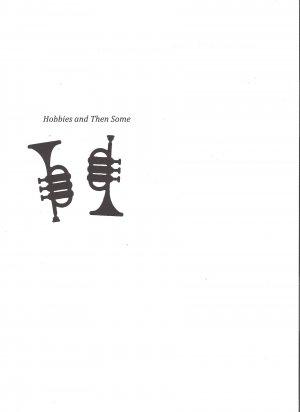 Trumpet  die cuts  music  band  Sizzix Thin Cut #22943
