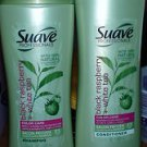 Lot of 4 Suave Professionals Black Raspberry+White Tea  Shampoo+Conditoner
