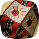 Ladybug Floral Windsock 4x4 Machine Embroidery Designs