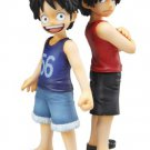 Excellent Model Portrait.Of.Pirates One Piece Luffy and Ace bros (PVC figure)