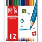 Pencil: Caran d'Ache Fancolor Colored Pencils, 12 Colors