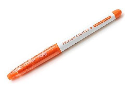 Pilot FriXion Colors orange Erasable Marker SFC-10M (Set of 10) (Japan Import)
