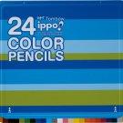 Tombow ippo! 24 colour pencils CL-RPM0224C (Japan Import)