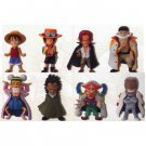 One Piece World Collectable Figure vol.1 set all eight pieces (Japan Import)