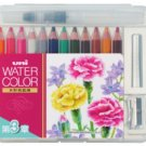 Uni Mitsubishi Watercolor Pencil 12 color Chapter 3 UWCNCS12C3 (Japan Import)