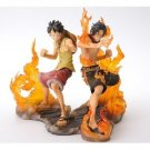 One Piece DX Figure BROTHERHOOD Luffy and Ace  (Japan Import)