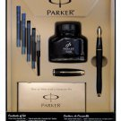 Parker Urban Black Matte GT Medium Point Fountain Pen Kit (1760841)