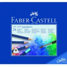 Faber-Castell Art GRIP Aquarelle Watercolor Pencils tin of 24