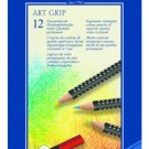 Faber-Castell - Art GRIP Color Pencils/ Tin of 12
