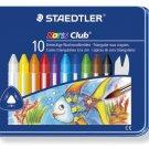 STAEDTLER Noris Club birds plus 10 color crayon set