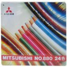 Mitsubishi 880 Series Pencil colored pencil 24 Colors