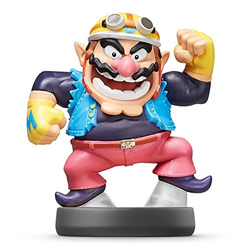 Nintendo Wii U 3DS Amiibo Wario Super Smash Bros. [Japan Import]