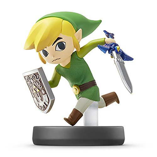 Nintendo Wii U 3DS Amiibo Toon Link Super Smash Bros. [Japan Import]