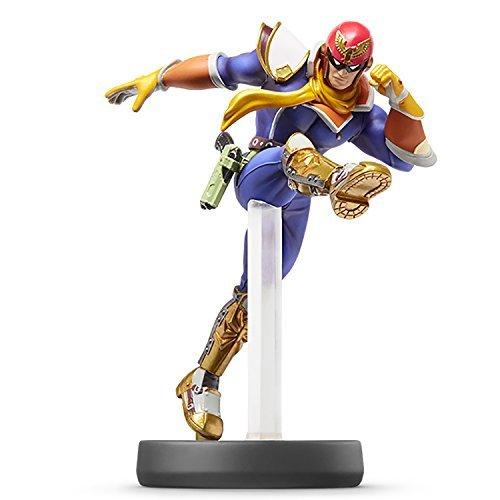 Nintendo Wii U 3DS Amiibo CAPTAIN FALCON Super Smash Bros. [Japan Import]