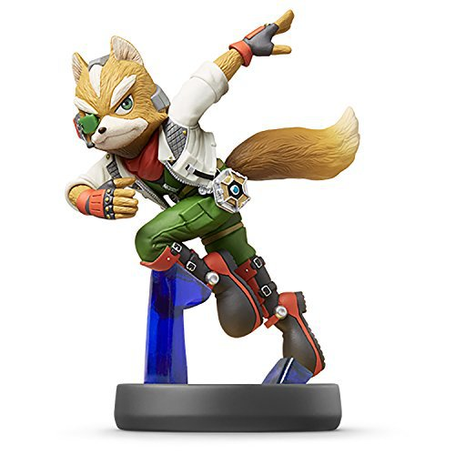 Nintendo Wii U 3DS Amiibo Fox Super Smash Bros. [Japan Import]